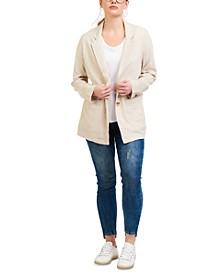 Light Linen-Blend Blazer
