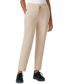 Organic Cotton Ankle Track Pants