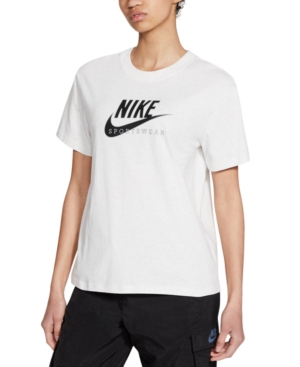 Nike WOMEN'S SPORTSWEAR COTTON HERITAGE T-SHIRT