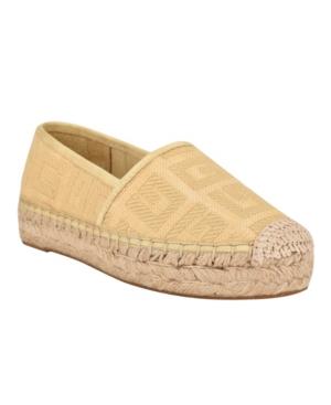 Guess Women's Jessea Espadrille Sneakers Women's Shoes In Yellow
