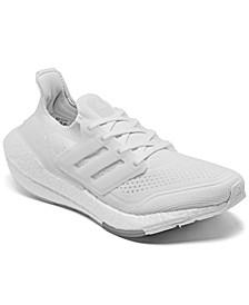 Women's UltraBOOST 21 Running Sneakers from Finish Line