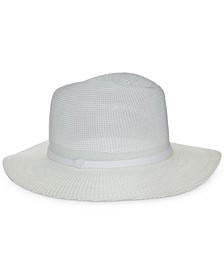 Women's Knit Panama Hat