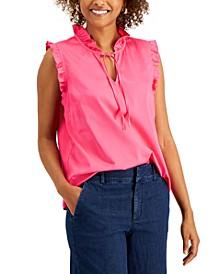 Sleeveless Ruffled Top, Created for Macy's