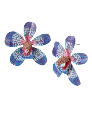 Orchid Statement Earrings