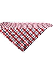 "American Plaid Table Topper, 40"" x 40"""