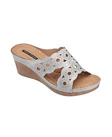 April Wedge Sandal