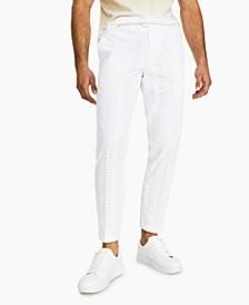 INC Men's Slim-Fit Eyelet Pants, Created for Macy's