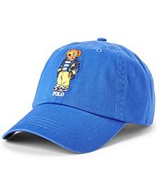 Men's Polo Bear Chino Ball Cap