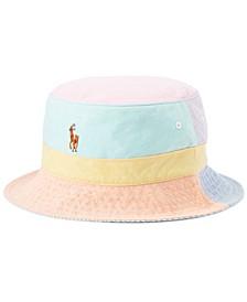 Men's Color-Blocked Oxford Bucket Hat