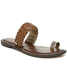Women's Germaine Woven Toe-Ring Sandals