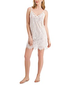 Ivory Lace Chemise Nightgown, Created for Macy's