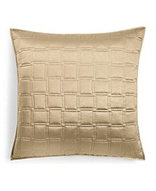 Burnish Bronze Quilted Euro Sham, Created For Macy's