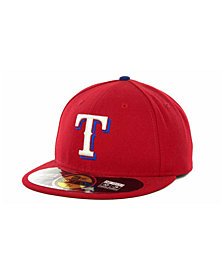 New Era Texas Rangers Authentic Collection 59FIFTY Hat