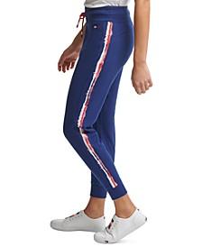Tommy Hilfiger Printed Stripe Logo Jogger Pants