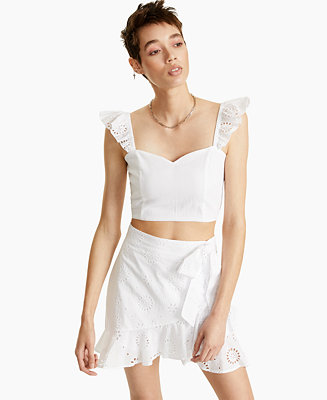 Sweetheart Crop Top, Created for Macy's