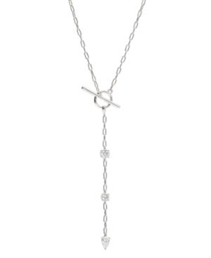 """Toggle Y-Necklace 17"""" + 2.4"""" extender"""