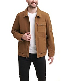 Men's Cotton Canvas 3-Pocket Mechanics Jacket