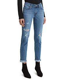 Women's Boyfriend Tapered-Leg Jeans