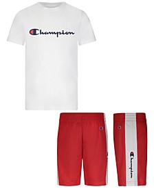 Baby Boys 2-Pc. Classic Logo T-Shirt & Basketball Shorts Set