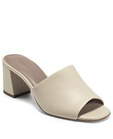 Women's Entrée Heel Dress Slide Sandals