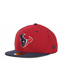 New Era Houston Texans 2 Tone 59FIFTY Fitted Cap