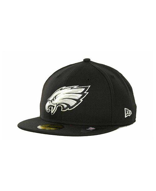 super popular 66b4d 2228e ... New Era Philadelphia Eagles 59FIFTY Cap ...