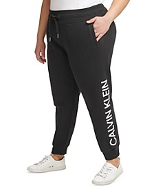 Plus Size Logo Sweatpants