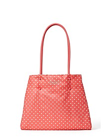 Everything Puffy Printed Large Tote