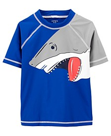 Little Boys Shark Rashguard