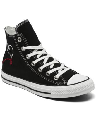 Women's Chuck Taylor All Star Move Made with Love High Top Casual Sneakers from Finish Line