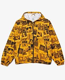 Men's L!VE Polaroid Collaboration Printed Hooded Jacket