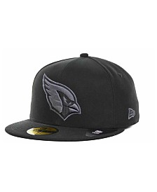 New Era Arizona Cardinals Black Gray 59FIFTY Cap