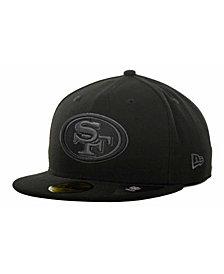 New Era San Francisco 49ers Black Gray 59FIFTY Cap