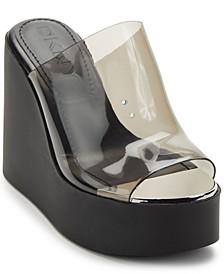 Women's Pen Platform Wedge Sandals