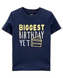 Baby Boy Birthday Jersey Tee