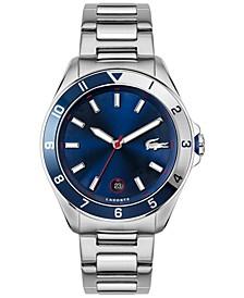 Men's Tiebreaker Stainless Steel Bracelet Watch 43mm