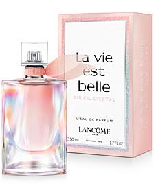 La vie est belle Soleil Cristal Fragrance Collection