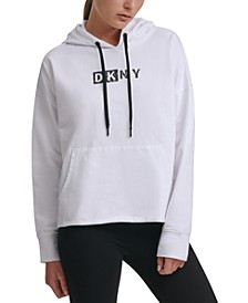 Sport Logo Hooded Cotton Sweatshirt