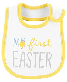 Baby Boys and Girls My First Easter Teething Bib