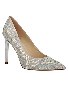 Women's Tatiah Embellished Glam Pumps