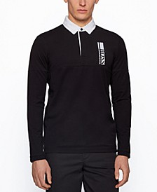BOSS Men's Plisy Regular-Fit Polo Shirt