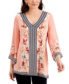 Petite Studded Tunic, Created for Macy's