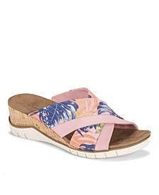 Carmiela Women's Wedge Slide Sandal