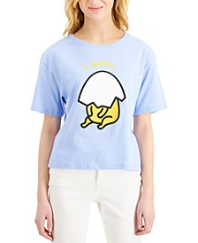 Juniors' Gudetama Graphic T-Shirt