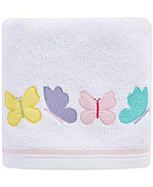 """Spring Butterfly 16"""" x 28"""" Hand Towel, Created for Macy's"""