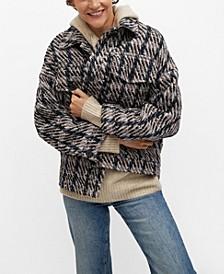 Women's Check Tweed Jacket