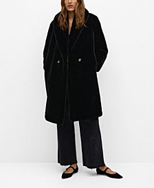 Women's Fluffy Long Coat