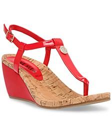 Italia Wedge Sandals