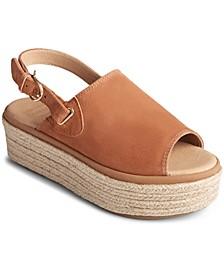 Women's Delmare Flatform Espadrille Sandals