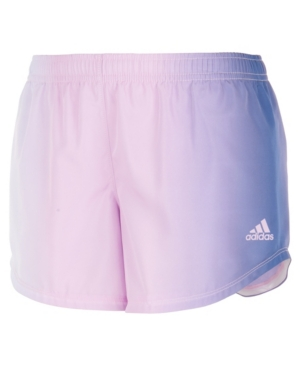 Adidas Originals ADIDAS BIG GIRLS OMBRE WOVEN SHORTS